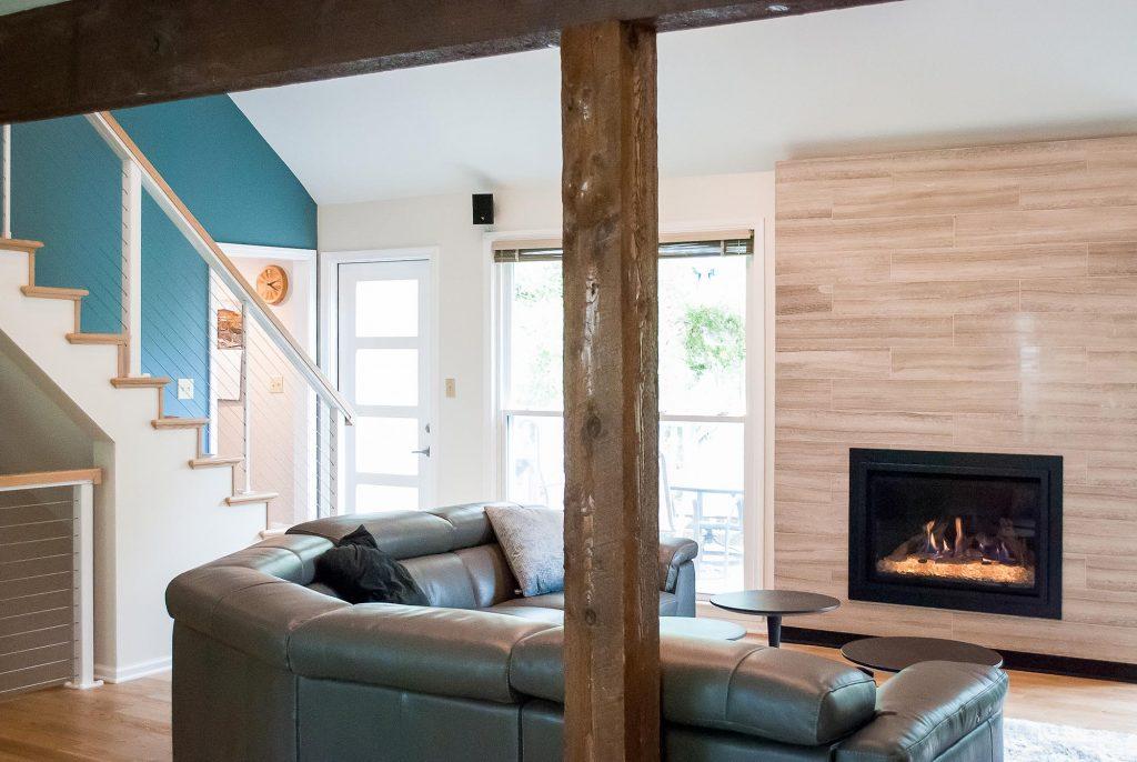 Lenexa KCMO Living Space Renovation