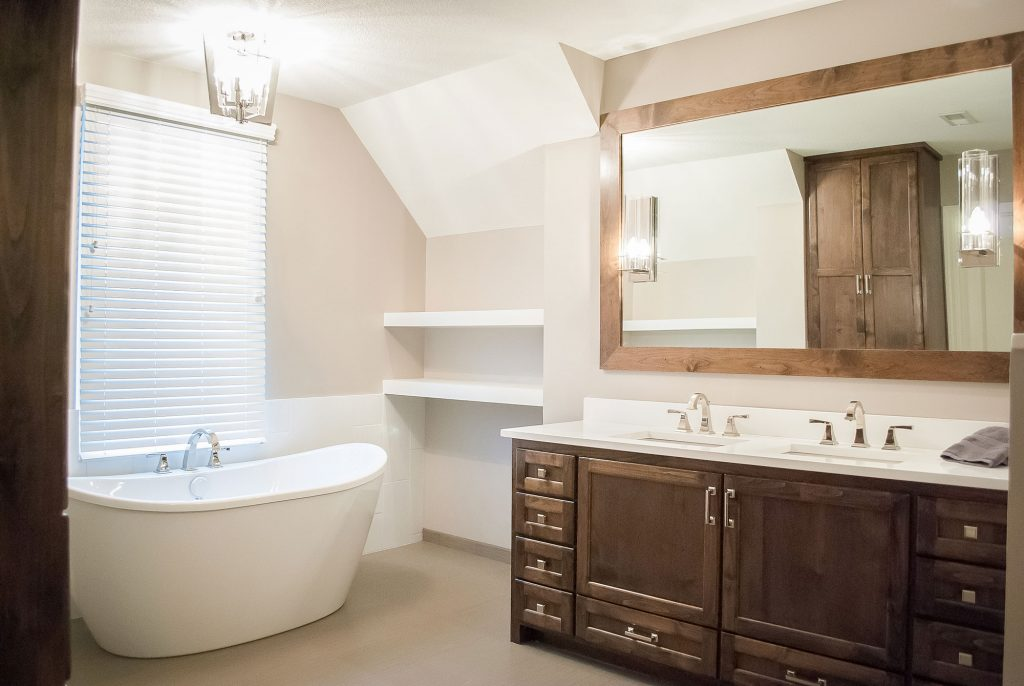 Olathe Kansas Bathroom Makeover